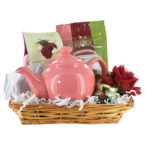 Purely Pink Tea Gift Basket