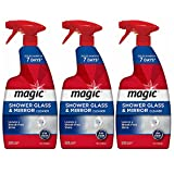 Magic Shower Glass & Mirror Cleaner Trigger, 28 fl oz, Pack of 3