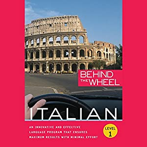 Behind the Wheel - Italian 1 Audiobook