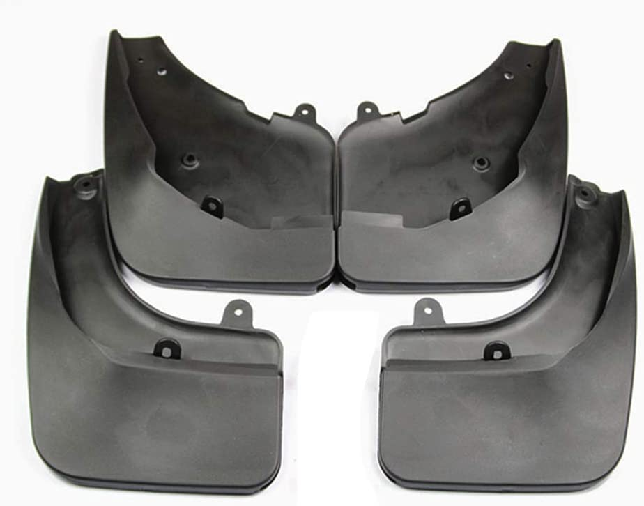 Upgraded Car Mud Flaps Mudguards for PEUGEOT 308 Front Rear Splash Guards Car Fender Styling /& Body Fittings Black 4Pcs