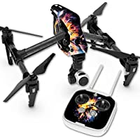 Skin For DJI Inspire 1 Quadcopter Drone – Leo Galaxy | MightySkins Protective, Durable, and Unique Vinyl Decal wrap cover | Easy To Apply, Remove, and Change Styles | Made in the USA