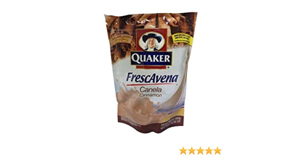 Amazon.com : Quaker Frescavena Cinnamon Mix 12.35 oz : Powdered Soft Drink Mixes : Grocery & Gourmet Food