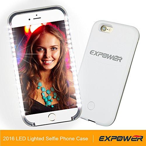 Urcover Custodia Selfie Case Cover Luce LED Luminosa Apple iPhone