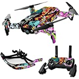 MightySkins Skin For DJI Max Coverage - Graffiti Wild Styles | Protective, Durable, and Unique Vinyl Decal wrap cover | Easy To Apply, Remove, and Change Styles | Made in the USA