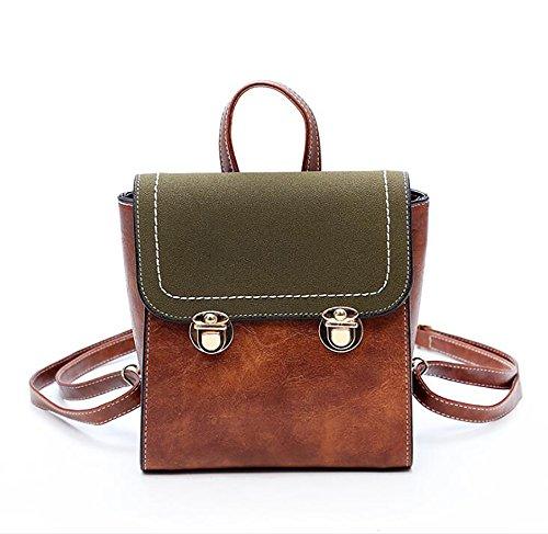 en 22cm souple PU décontracté cuir à à main 20 sac sac des de multifonctionnel mode femmes Le dos 10 sac vHRxpqw