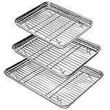 YIHONG Baking Sheet with Rack Set
