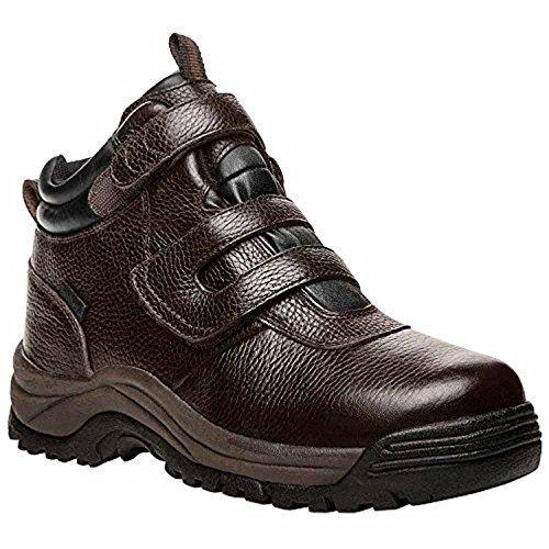 (Propet Men's Cliff Walker Strap Boot Bronco Brown 9 X (3E) & Oxy Cleaner Bundle)