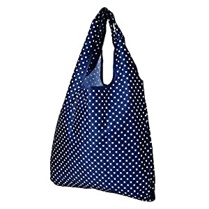 eBoot Shoulder Style Reusable Shopping Bag Blue, Large-sized