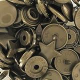 Boutons pressions KAM étoiles 12,4 mm Bronze x20