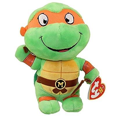 Ty Teenage Mutant Ninja Turtles Michelangelo Mask, Orange, Regular