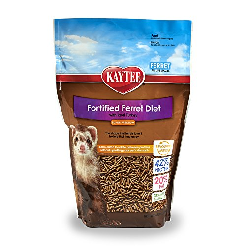 Kaytee Premium Ferret Food with Turkey, 4-Ib - Premium Ferret Food