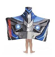 Transformers Kids Hooded Towel Wrap for Bath, Pool or Beach
