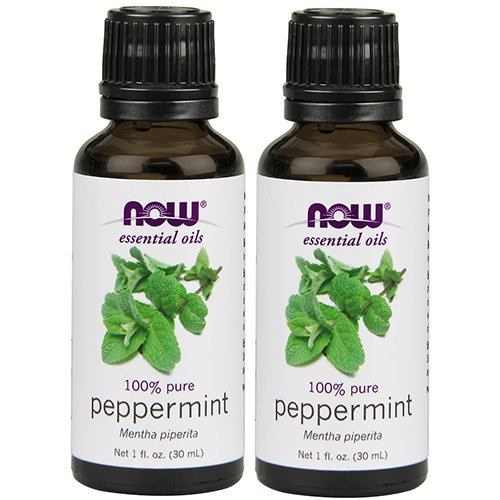 NOW Foods Peppermint Oil, 1 ounce (Pack of 2)