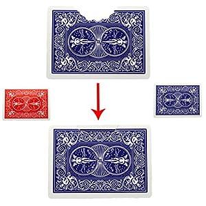 Dengguoli Bite Out Card Magic Tricks Card New Closed Up Magic Tools