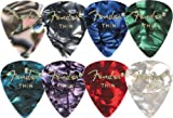 Fender 351 Premium Celluloid Guitar Picks Blue Moto Thin, Outdoor Stuffs
