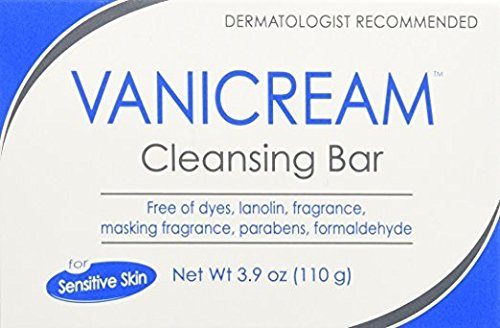 Vanicream Cleansing Bar, 3.9oz Per Bar (2 Bars)