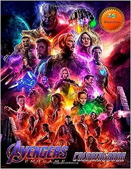 AVENGERS ENDGAME Coloring Book: MARVEL Avengers