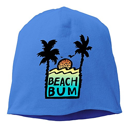 Men's Beach Bum Wig (Caryonom Adult Beach Bum Sunshine Beanies Skull Ski Cap Hat RoyalBlue)