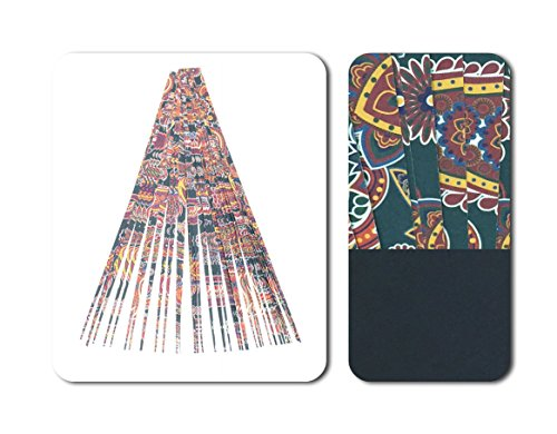 """Paper Bead Beading Strips for Paper Beads Double Sided 1/2"""" Precut Paper Strips Make Beautiful Beads from Ground Zero Creations"""