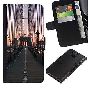TaiTech / - Puente de la salida del sol Vista de la ciudad - HTC One M8