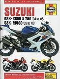 2003-2008 HAYNES SUZUKI GSX-R600, 750, GSX-R1000 SERVICE REPAIR MANUAL (4382)