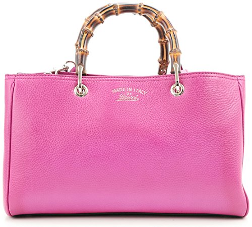 Gucci Bamboo Leather Shopper Shoulder To - Gucci Pink Shopping Results