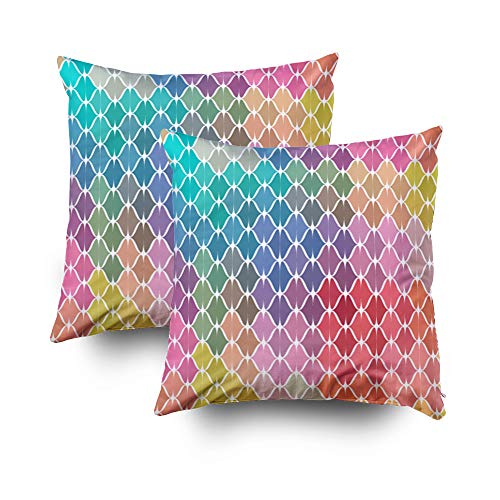 Textured Weaves Wallpaper - Cushions For Sofa Cover,ROOLAYS Throw Square Decorative Pillow Cover 20x20Inch,Cushion Covers color woven textured wallpaper Both Sides Printing Invisible Zipper Home Sofa Decor Sets 2 PCS Pillowcase