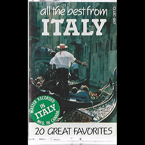 Various: All The Best From Italy Cassette NM Canada LDMI CLUC 067 (All The Best From Italy)