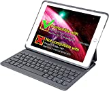 Inateck New iPad 9.7 inch 2017/iPad Air1 Keyboard Case with Multi-Angle Stand,Dark Grey
