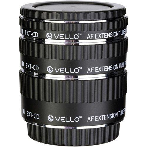 Vello Auto Extension Tube Set for Canon EOS by Vello
