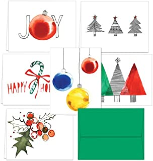Amazon.com : Christmas Bulk Christmas Cards With Envelopes (pack ...