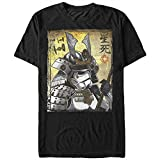 Star Wars Samurai Stormtrooper Mens Graphic T Shirt,Black,Medium