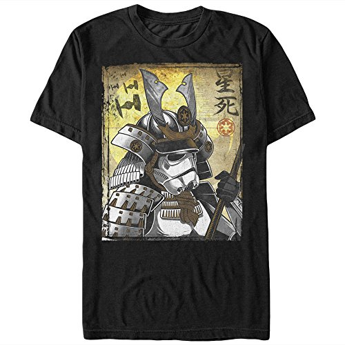 Fifth Sun Star Wars Samurai Stormtrooper Mens Graphic T Shirt , Black , XX-Large