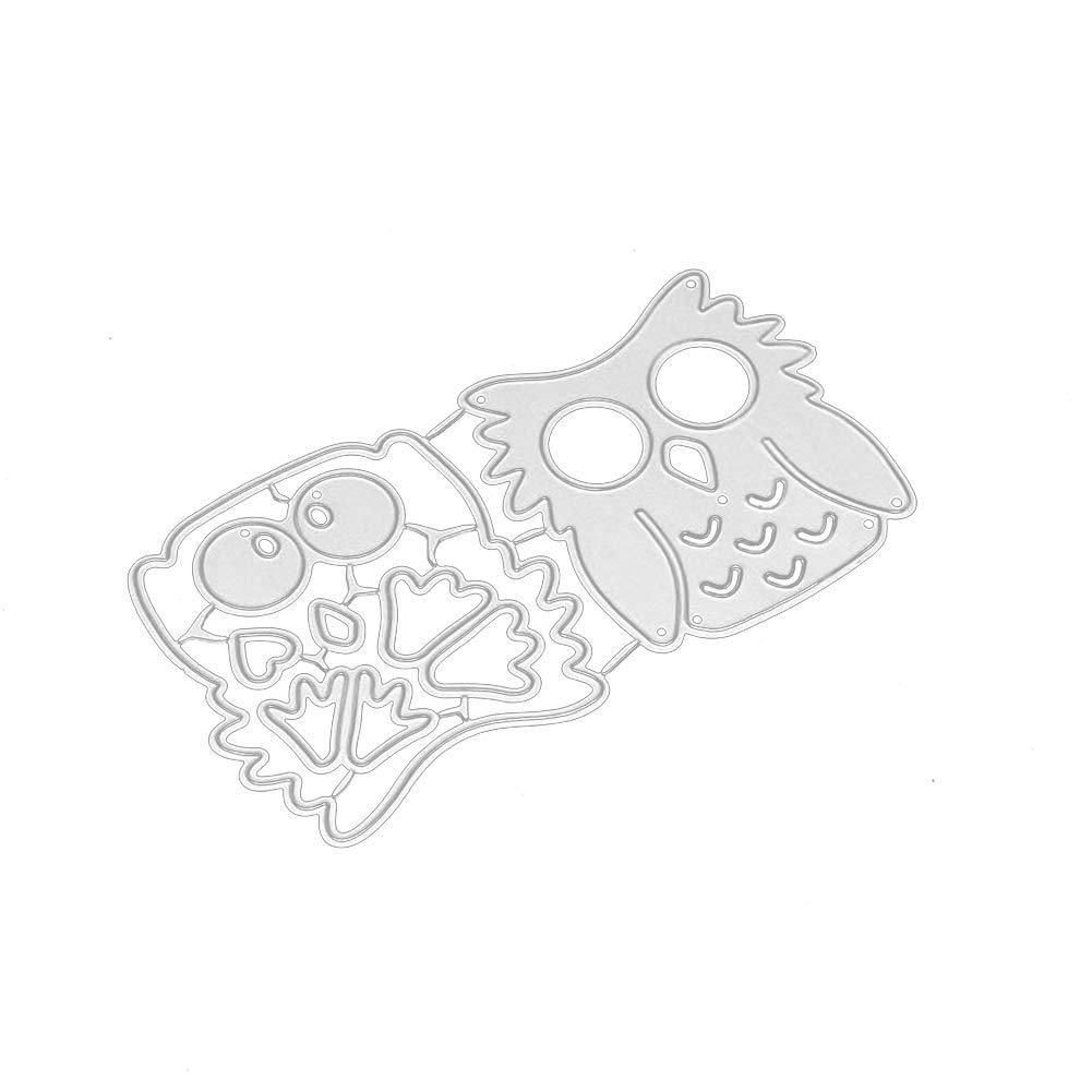 Paper Card Making Metal Die Cut Stencil Template for DIY Scrapbook Photo Album Embossing Craft Decoration WFZ17 Cute Cartoon Cat Cutting Dies