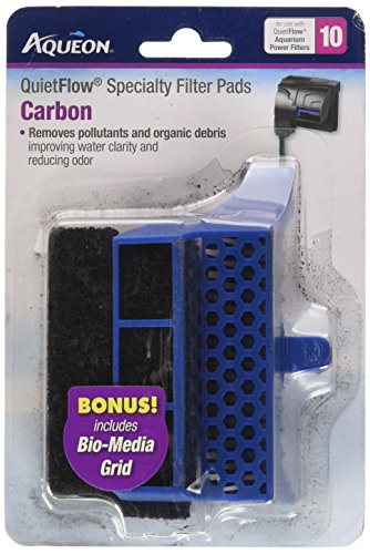 Replacement Bio Media - Aqueon QuietFlow Carbon Cartridge with Bio-Media Grid 10