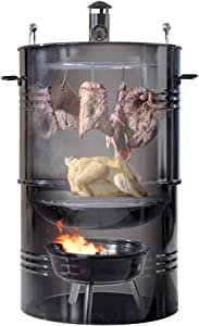 Hakka 16-Inch Multi-Function Barbecue and Charcoal Smoker Grill