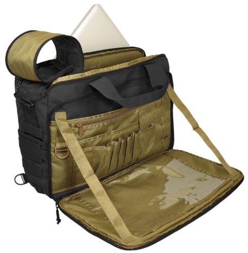 Hazard 4 MOD Laptop Messenger/Briefcase/Go-Bag with Molle, Black by HAZARD 4 (Image #5)