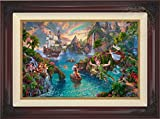 Disney Peter Pan's Never Land - Thomas Kinkade 18'' x 27'' Estate Edition (E/E) Limited Edition Canvas (Brandy)