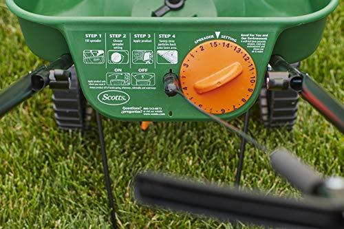 Scotts Turf Builder Edgeguard Seed and Fertilizer Spreader