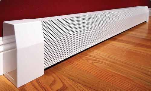 baseboarders baseboard heater cover straight kit 4ft length amazoncom - Hot Water Baseboard Heater Covers