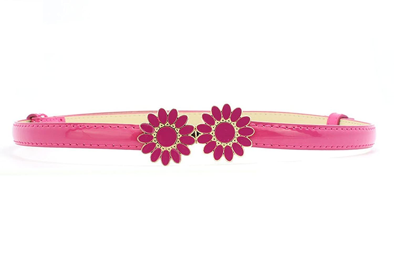 Nanxson(TM) Women's Fashion Sunflower Candy Color Waist Belt PDW0019