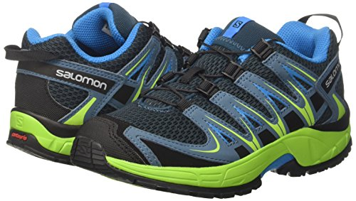 Reflecting blue 3d Running Pro textile Kids lime hawaiian Shoes Xa Blue Pond Synthetic outdoor Salomon Trail Green Unisex nqOA77
