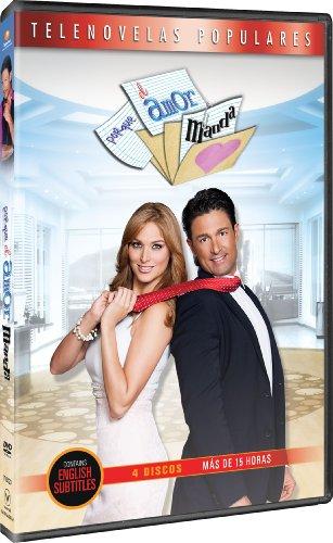 DVD : Por Que El Amor Manda (4 Disc) - Seller: Deep_Discount_Entertainment [+Peso($26.00 c/100gr)] (AGC)