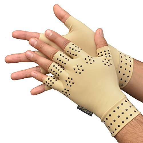 Medipaq Magnetic Anti-Arthritis Health THERAPY Gloves by Medipaq
