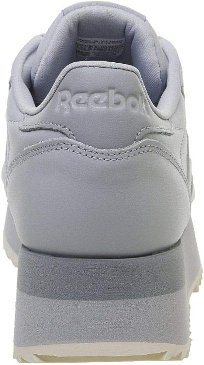 Reebok Womens Classic Leather Double DV3626 Cold Grey Cool Shadow Pale Pink