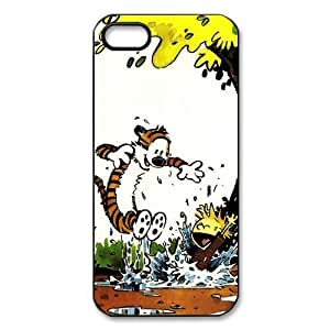 Calvin And Hobbes, Rubber Phone Cover Case For iPhone 5 5s, Gifts, iphone Accessories