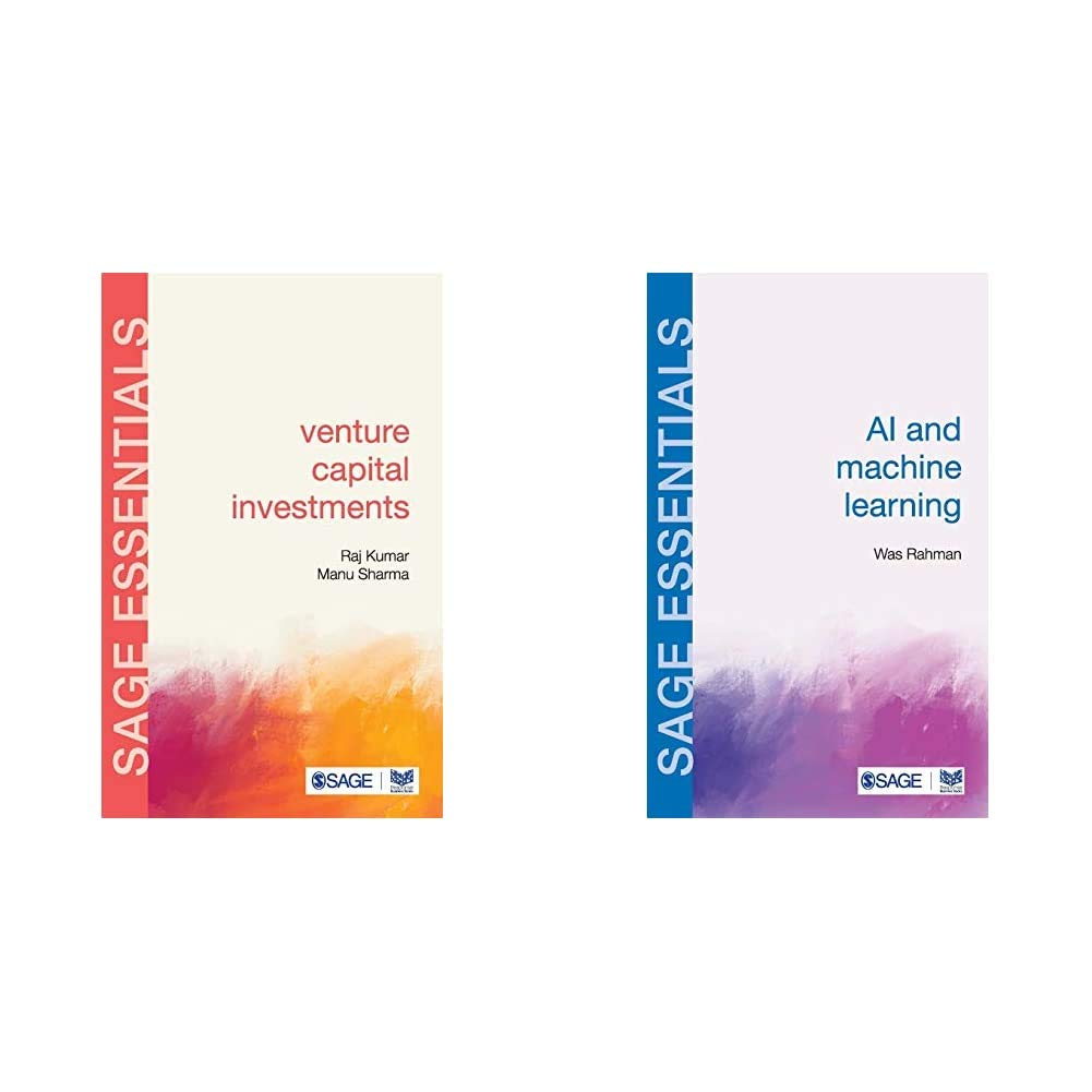 AI & Machine Learning + Venture Capital Investments : SAGE Essentials (Set of 2 Books)