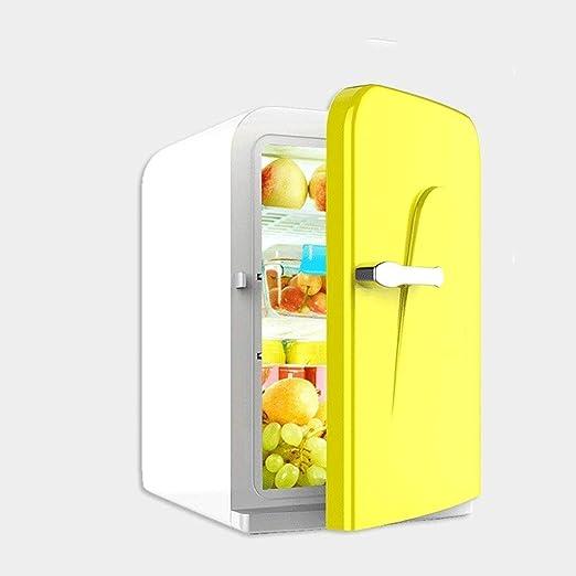 MUTANG Mini Nevera, Mini refrigerador del Coche Inicio de Doble ...