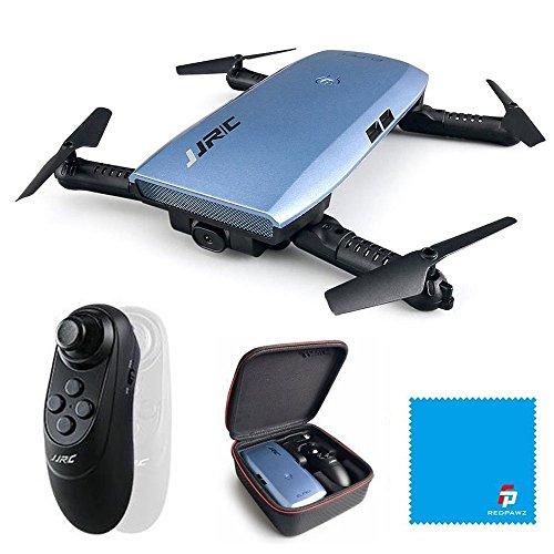 JJRC H47 ELFIE Plus Quadcopter 720P WIFI FPV Doblador Selfie Drone con sensor de gravedad Modo sin cabeza Modo de retención de altitud RTF - Azul JJRC H47