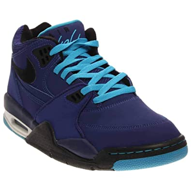 premium selection 63dce 6d08f Nike Air Flight 89 Mens Basketball Shoes 306252-401 Dark Royal Blue 7.5 M US